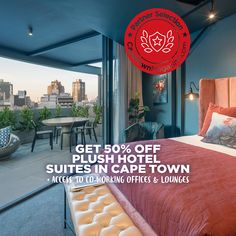 Off Plush Hotel Suites Atop Smart Work Spaces In Epicentre Of Cape Town