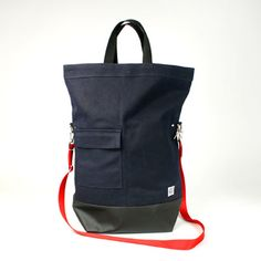 portland designer Patrick Long designed this Chester Wallace Tote for Canoe. (canoeonline.net)