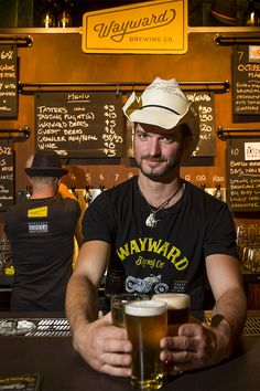 Straight outta Camperdown comes this brewery / beer hall from Wayward Brewing Co Time Out, Arts And Entertainment, Brewing Co, Brewery, Food And Drink, Tasty