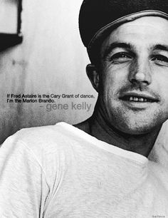 """Eugene Curran """"Gene"""" Kelly (August 23, 1912 – February 2, 1996) was an American dancer, actor, singer, film director and producer, and choreographer <3"""