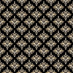 Damask Seamless Pattern. Black, Gold. #GraphicRiver Damask Seamless Pattern. Black, Gold. Created: 12May13 GraphicsFilesIncluded: JPGImage #VectorEPS Layered: No MinimumAdobeCSVersion: CS Tags: background #black #classical #damask #decoration #decorative #elegant #fabric #gold #golden #luxury #old #ornament #ornate #pattern #posh #print #repeating #royal #seamless #style #texture #tile #traditional #vector #victorian #vintage #wall #wallpaper #wrapping