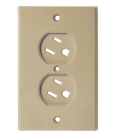 Take a look at this Dreambaby Beige Swivel Outlet Cover - Set of Six on zulily today!