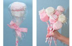 ευκολα γλυκα για παιδικο παρτυ-καλαμακια με marshmallows-Genethlia
