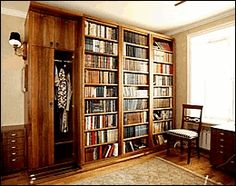 Home Library DIY Idea, for all those book lovers out there!