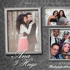 creative photobooth layout - Google Search