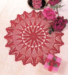 "Victorian Holiday, part of Crochet World's FREE Doily of the Month. Get the download here: http://www.crochet-world.com/doily.php?id=10  ""Like"" the Crochet World Facebook page so you don't miss a single monthly installment: https://www.facebook.com/CrochetWorldMag"