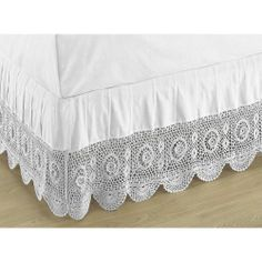 lace bedskirts, queen | Bed Crochet Skirt – Compare Prices, Reviews and Buy at Nextag