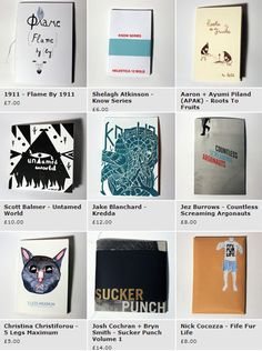 Zines from From Story Motel online shop
