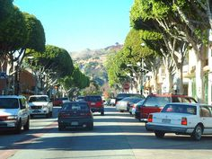 Greenleaf Avenue, Uptown Whittier CA, my birthplace and still nearly the same years later.