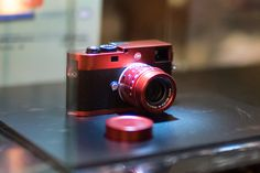 This is the new Leica M Typ 262 red anodized aluminum limited edition camera | Leica Rumors