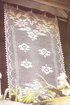 76 Meilleures Images Du Tableau Rideaux Crochet En 2019 Crochet