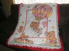 hand quilted panel for my niece