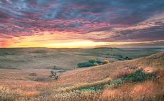 Clearing Fall Storm, Kansas Flint Hills by Kevin Sink.