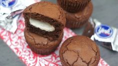 York Peppermint Brownie Filled Cupcakes!  amazing