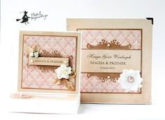 Wedding set by Axdesign / Magic moments  paper collection by P13
