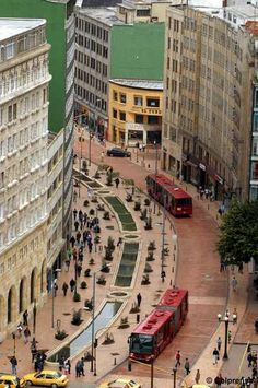 On the last week debate we study the success of bogota government 18 years ago when they implemented a transportation system that responded to the necessities of the city at the time of its construction. Avenida Jiménez y eje ambiental. Colombia Travel, Colombia South America, South America Travel, Travel Around The World, Around The Worlds, Places To Travel, Places To Go, Beautiful Places To Visit, Viajes