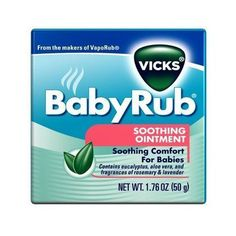 The 25 Best Vicks Baby Rub Ideas On Pinterest Baby