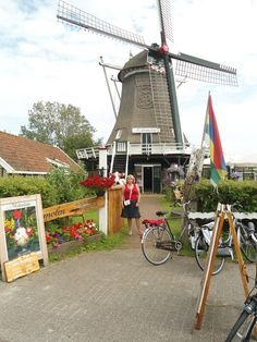 A windmill in The Netherlands on the island Terschelling in The Wadden Sea, a Unesco World Heritage Site.#Pin By:Pinterest++ for iPad#