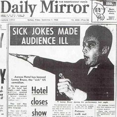 Lenny Bruce and his ill-fated Sydney tour