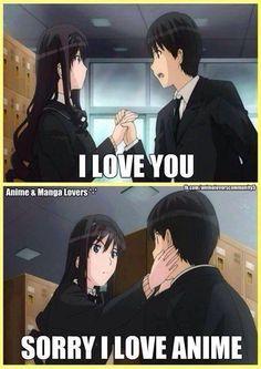 Shh! I love anime.