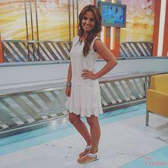 Cristina Shoes   Cristina Ferreira   Spring Summer 2016   Collection   Primavera Verão 2016 Spring Summer, Summer 2016, Cristina Ferreira, White Dress, Dresses, Collection, Fashion, Little Princess, Princesses