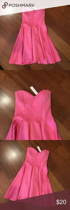 Pink Skater Dress Brand new with tags! Fits a size small/medium 💕 Dresses