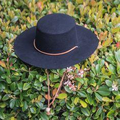 Jeanne Simmons - Wool Felt Bolero Hat w/ Chin Chord Felt Hat, Wool Felt, Glasses For Your Face Shape, Gaucho, Face Shapes, American, Hats, Oc, Style