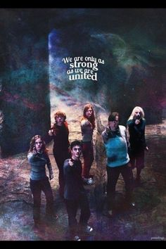 Harry Potter - Hermione, Ron, Harry, Ginny, Neville and Luna Harry Potter World, Saga Harry Potter, Mundo Harry Potter, Harry Potter Quotes, Harry Potter Love, Harry Potter Universal, Harry Potter Ginny Weasley, Hp Quotes, James Potter