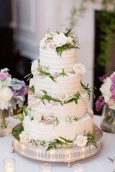 Wedding Cake Wainwright House Corner Stone Caterers