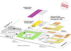 Horarios y direcciones | banrepcultural.org Map, Buenaventura, Exhibitions, Location Map, Maps
