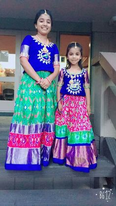 Pochamplly ikkat silk sarees Ikkat Duppatas ikkat Legengas Directly available from weavers For bookings please contact us. Frocks For Girls, Kids Frocks, Little Girl Dresses, Girls Dresses, Kids Blouse Designs, Dress Designs, Princes Dress, Baby Dress Design, Kids Lehenga