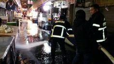 광명전통시장 은 어제밤 9시부터 국토대청결 운동과 의용소방대의 3월 정기 교육을 함께 실시했습니다 ..8시 30분 부터 광명전통시장 의 주요 통로에 물을 뿌려 겨우네 쌓인 때를 불...