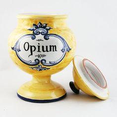Opium, de Petralia. #albarelo