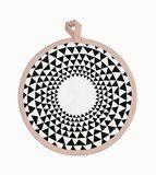 Ferm Living Shop — Triangle (Rose) Pot Holders
