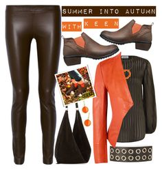 """Summer Into Autumn / So Fresh and So Keen"" by rasa-j ❤ liked on Polyvore featuring The Row, Zimmermann, Tasha, Blu Bijoux, Richards Radcliffe, Syna, Keen Footwear, keen and autumn2016"