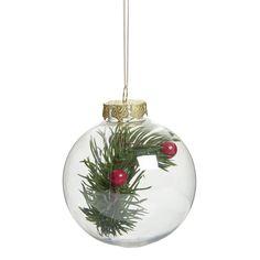 Wilko Christmas Decoration Foilage                80mm