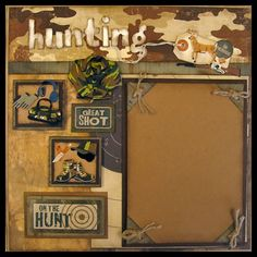 Image detail for -Hunting - digital scrapbooking - gallery - upload your scrapbook pages ...