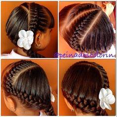 #braid #braids #braidsforgirls #girl #girls #hair #hairdo #hairstyles #colorin #trenza #treccia #trenzas #tresses #peinados #pretty #peluquerias