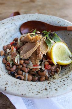 Salada de Atum e Feijão Fradinho | Blog Figos e Funghis