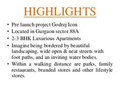 Godrej icon pre launch project sector 88a gurgaon