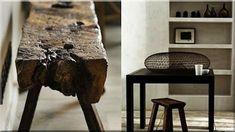 Wabi sabi, modern lakberendezési ötletek, rusztikus bútorok, enteriőr, lakás képek - Antik bútor, egyedi natúr fa és loft designbútor, kerti fa termékek, akácfa oszlop, akác rönk, deszka, palló Wabi Sabi, Interior, Furniture, Modern, Home Decor, Trendy Tree, Decoration Home, Indoor, Room Decor