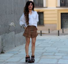 Choies Shirt, Emonk Ibiza Boots, Zaitegui Shorts