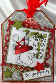 Polar Bear by jenniferds - Cards and Paper Crafts at Splitcoaststampers