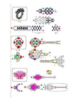57 anelli di perle, perline e cristalli (schema). Discussione sulla LiveInternet - Servizio russo diario online
