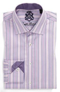 New ENGLISH LAUNDRY Arrogant Elegant Dress Shirt Various Navy Purple Gingham