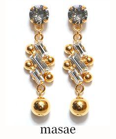 【masae】MAE PIERCES #シータ・ミュー Drop Earrings, Bracelets, Accessories, Jewelry, Fashion, Moda, Jewlery, Jewerly, Fashion Styles