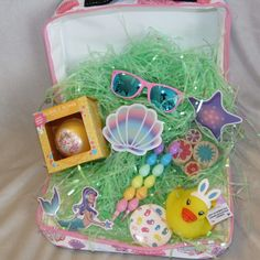 Unique Easter Basket Ideas Your Kids Will Love Bubble Bath Bomb, Beauty Kit, Happy Spring, Fabric Storage, Basket Ideas, New Tricks, Easter Baskets, Some Fun, The Little Mermaid