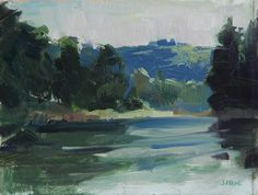 Trees, firs, rivers, forest. These are iconic images of the Pacific Northwest and are an integral part of the Portland, Oregon landscape. Painting en plein air in Portland is typically pleasant with moderate temperatures, abundant shade (depending, of course on where you are), and fewer...