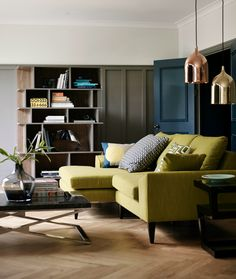 Design: Nostalgic 50s and 70s Fusion from DFS. Research shows we love combining different styles to create a unique, personal look. This combination of retro 70's and glamorous 50's creates an on-trend look for any living room.