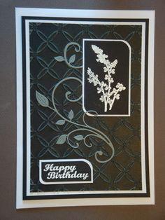 (Made by Susanne Elfrom Nguyen) Kort brugt til 30 års fødselsdag